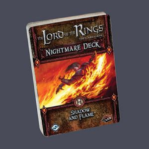 Lord of the Rings : The Card Game - Nightmare Decks - Shadow and Flame